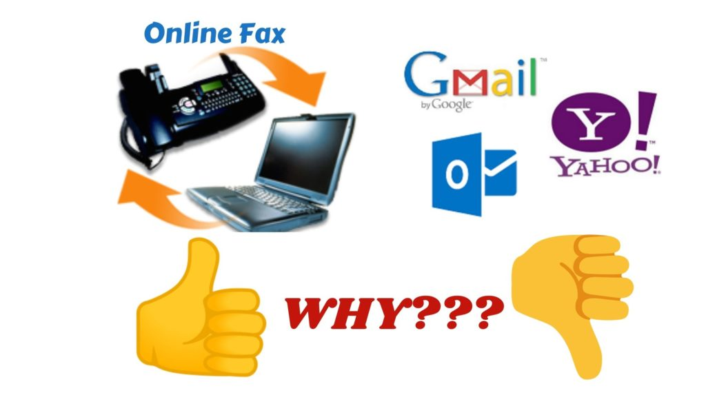 Online Fax is better than email